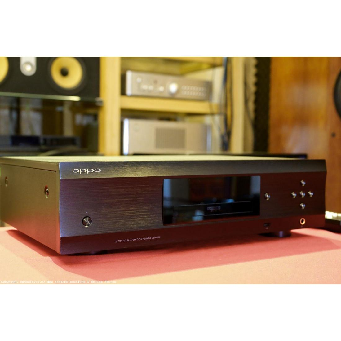 Am selling my  Used OPPO UDP-205 4k Blu-Ray player