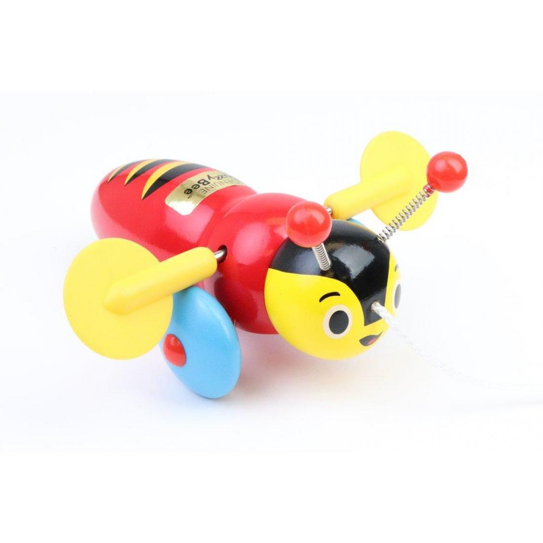 Genuine Buzzy Bee Pull-Along Toy. It clicks as you pull it along. New Zealand's number 1 kiwi icon and a toy that children have enjoyed for more than 50 years.