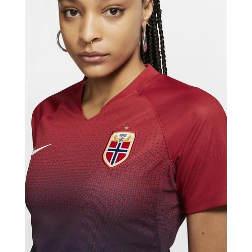 Women's Football Shirt Norway 2019 Stadium Home