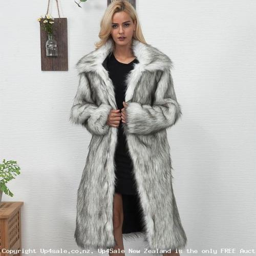 Luxurious 100% Vegan Thick Warm Faux Fur Coats Available Up to Up to Size 18